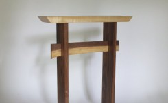 Live Edge Wood Console Table 67