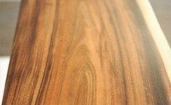 Live Edge Wood Console Table 74