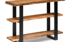 Live Edge Wood Console Table 95