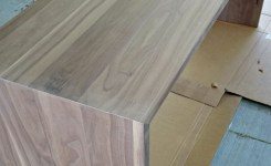 Wood Waterfall Console Table 3