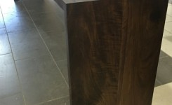 Wood Waterfall Console Table 8