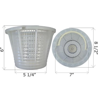 Pentair Admiral S-20 Skimmer Basket B-200 85014600 27180-200-000