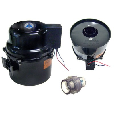 Air Supply Spa Air Blower 2Hp 240V Silencer 6320220F-TS