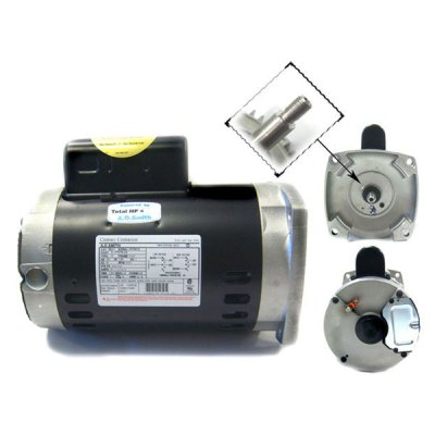 Aqua-Flo Dominator High-Head & Ultra-Flow Pump Motor 0.5 HP B846