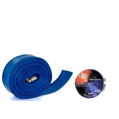 Blue Devil Backwash Hose  2in 25ft W/CLAMP B8259