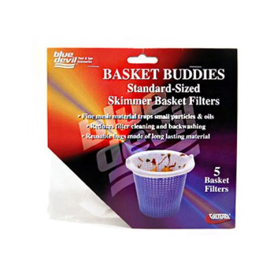 Blue Devil Filter Mesh Skimmer Basket Buddies B8500C