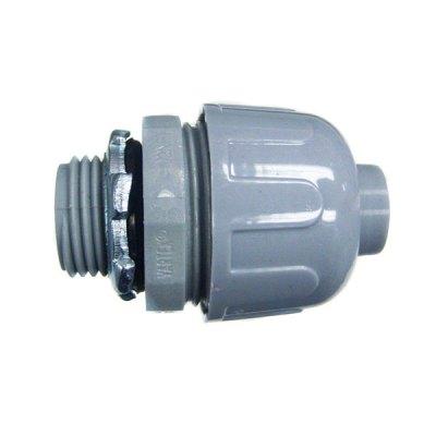 CMI 1/2 inch PVC Straight Connector Liquidtight NMLT-50