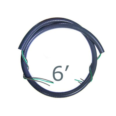 CMI 6 ft. 1/2 inch Whip Kit 220V 3-Wire WW1261-220