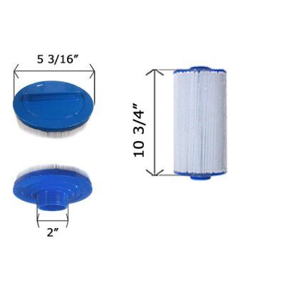 Cartridge Filter Jacuzzi Sundance Del Sol Spa 5CH-402