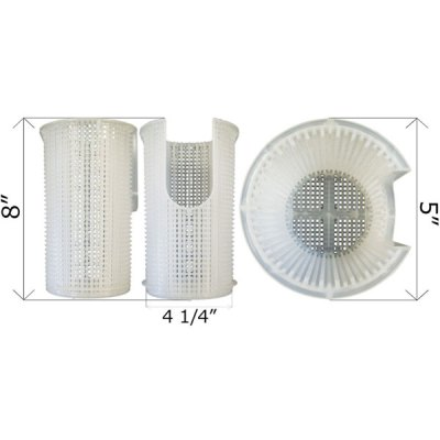 Jacuzzi Pump Strainer Basket 16105215R 35-105-1404