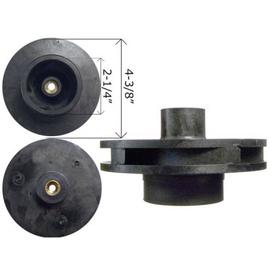 Jandy Impeller A0580901 SHP 0.5 Pump PHP 0.75 HP R0445301