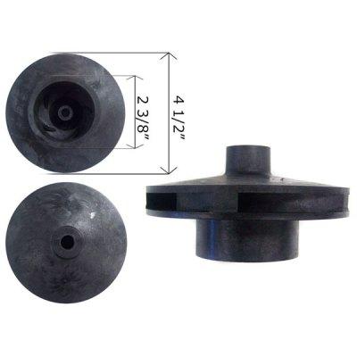Pentair SuperFlo Pinnacle 0.5-0.75 HP Pump Impeller 355043
