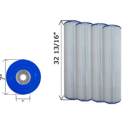 Quad Pack Cartridge Filter Hayward CX1260RE C-7495-4