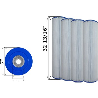 Cartridge Filter Hayward CX1380RE C-7490 - 4 Pack