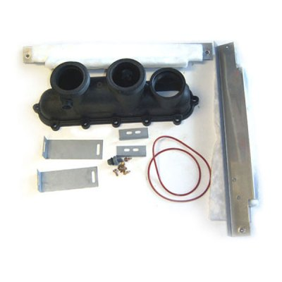 Raypak Heater Inlet/Outlet Header Kit 006706F