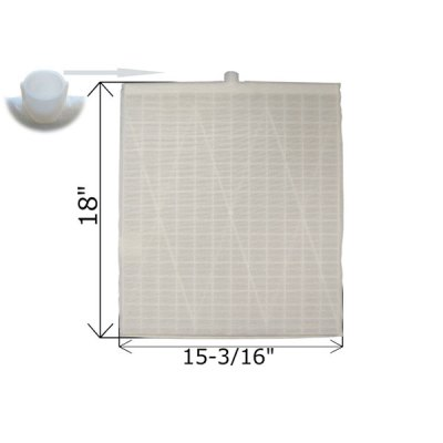 Rectangular DE Grid 18 in. x 15 3/16 in. FG-3015 FC-9840