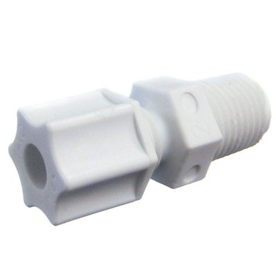 Rola-Chem 1/4 in. Tubing to MNPT Tubing Connector 550026
