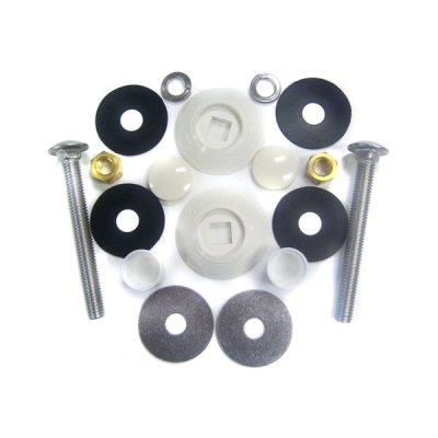 S.R.Smith White Residential Board Mounting Kit 67-209-909-SS
