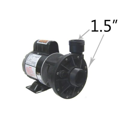 Waterway 1 Speed 0.125 HP 115V Spa Pump 3410030-1E