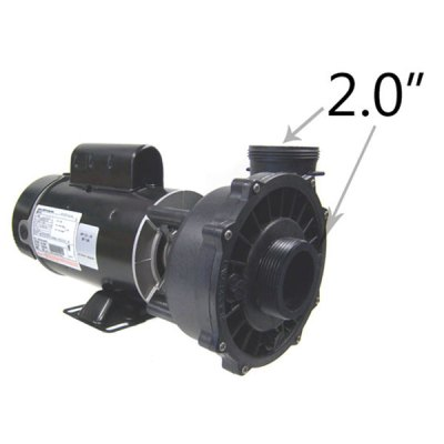 Waterway 1 Speed 2.0 HP 115V 230V Spa Pump 3410830-1A