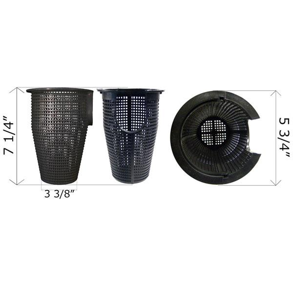 Waterway Pump Basket 6 in. Leaf Trap 319-3210