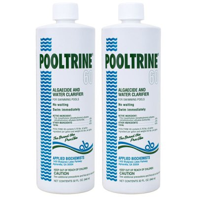 Applied Biochemists Pooltrine 60 Algeacide Clarifier 407303 - 2 Pack