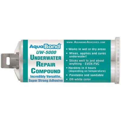 AquaBond Underwater Pool Repair Epoxy 50ml. Cartridge White UW-5000
