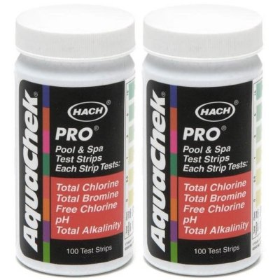 AquaChek Pro 5-Way Pool Test Strips 511710 - 2 Pack