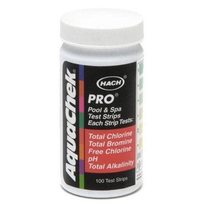 AquaChek Pro 5-Way Swimming Pool Test Strips 511710