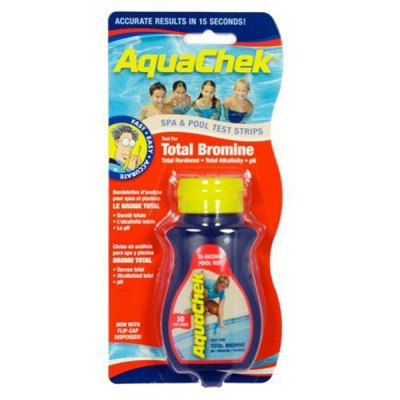 AquaChek Red 4-in-1 Total Bromine Pool & Spa Test Strips 521252A
