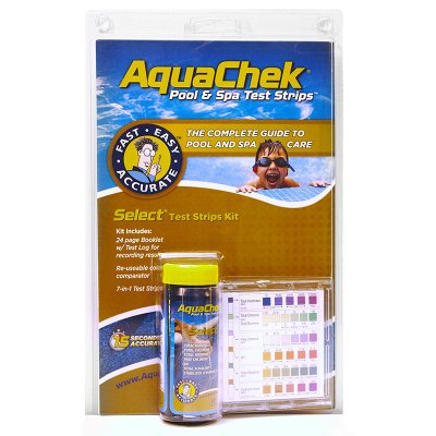 AquaChek Select 7-in-1 Pool & Spa Test Strips Complete Kit 541604A