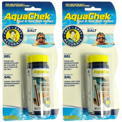 AquaChek White Salt Titrators Pool & Spa Test Strips 561140A - 2 Pack
