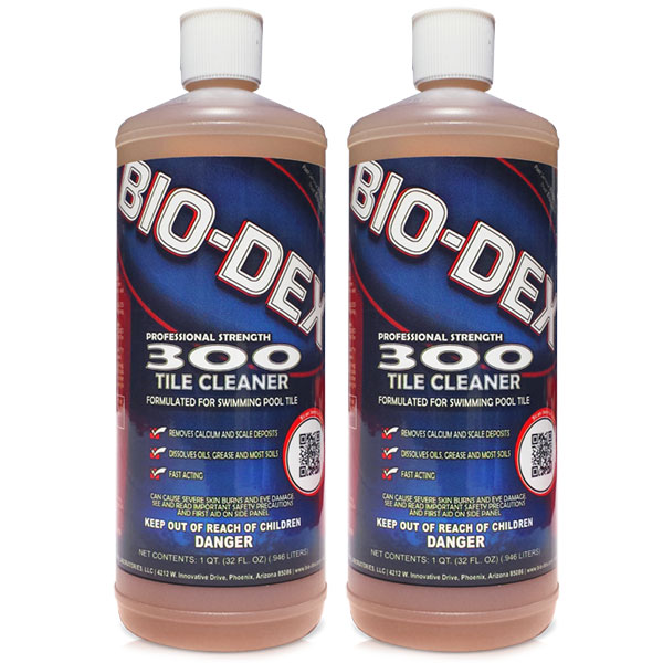 bio dex 300 swimming pool tile cleaner bd3oo bd300 2 pack