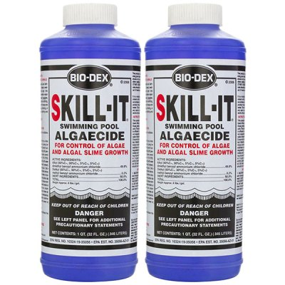 Bio-Dex Fast Acting Pool Algaecide Skill-It 32oz. SK132 - 2 Pack