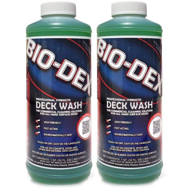 Bio-Dex Swimming Pool Deck Cleaner DC032 - 2 Pack