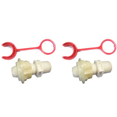 Booster Pump Polaris Softube Quick Connect P133 P-133 - 2 Pack