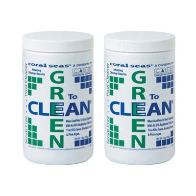 Coral Seas 2 lb. Green to Clean CS1060 07622 - 2 Pack