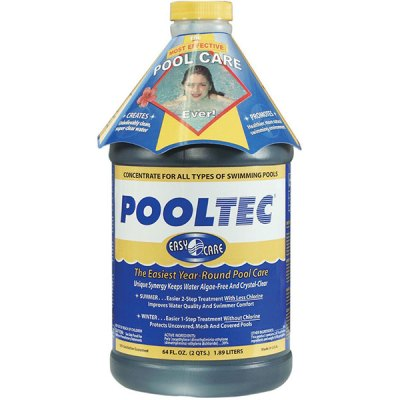 EasyCare PoolTec Algaecide Clarifier & Salt Cell Booster 64 oz. 30064