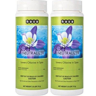 Hasa Hi-Temp Spa Chlorine Neutralizer 81412 - 2 Pack