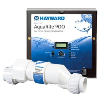 Hayward AquaRite 900 40K Gallon Salt Water Chlorine Generator AQR940