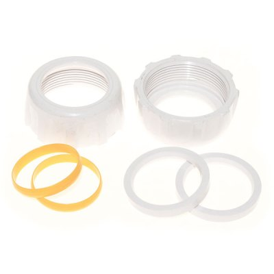 Hayward Salt and Swim Plumbing Nuts Ring and Collar 2 in. GLX-DIY-CCN2