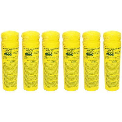 King Technology Spa Frog Bromine Cartridge 01-14-3824 - 6 Pack