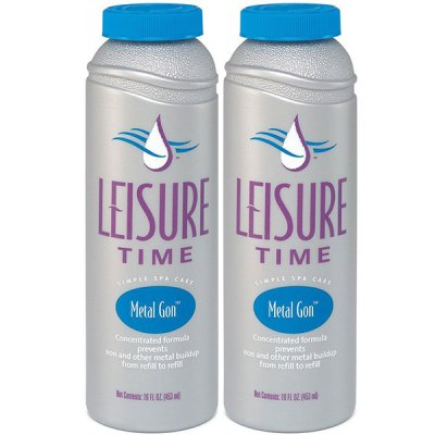 Leisure Time Spa Metal Gon 16oz. D - 2 Pack