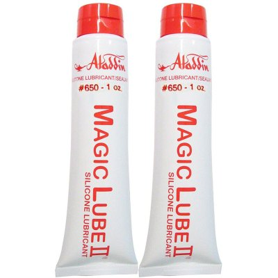 Magic Lube II 1 oz. Silicone Lubricant Sealant Aladdin 650 - 2 Pack
