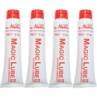 Magic Lube II 5 oz. Silicone Lubricant Sealant Aladdin 651 - 4 Pack