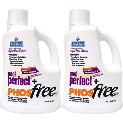 Natural Chemistry 3L Pool Perfect + PhosFree 05131 15131NCM- 2 Pack