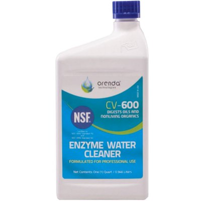 Orenda CV-600 Enzyme Pool Water Cleaner 1qt. ORE-50-133