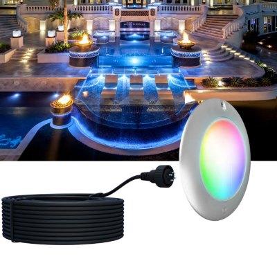 PAL Evenglow Multi Color Spa Light LED 12V/24V 80ft. 64-EGM-80