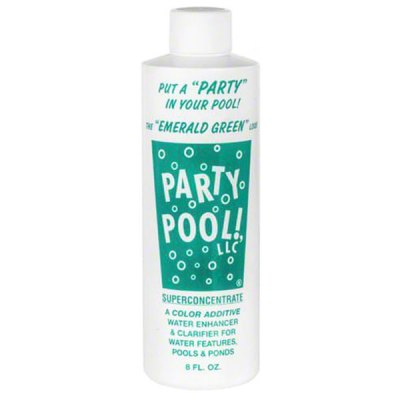 Party Pool Dye Pool Color Additive Emerald Green 8oz 47016-00012