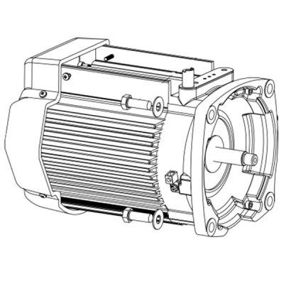 Pentair SuperMax Variable Speed Pump TEFC Motor Black 353135S
